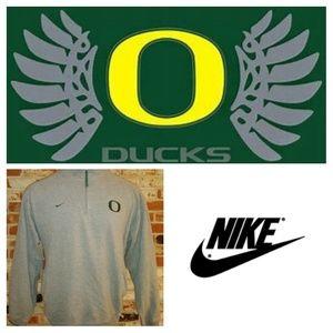 Nike University Oregon mens Quarter Zip Sweatshirt